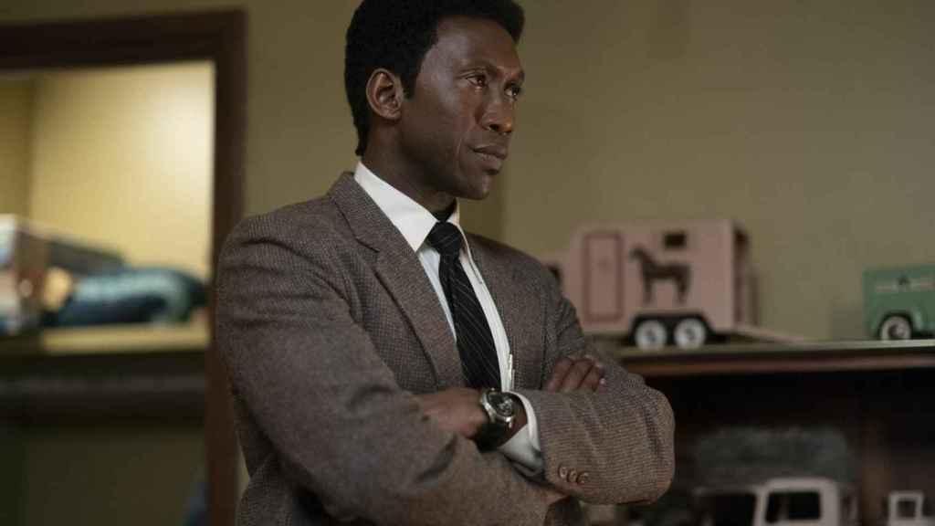 Mahershala Ali en la tercera temporada de True Detective.