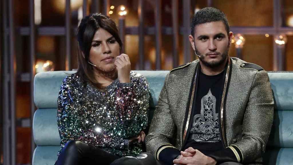 Isa Pantoja y Omar Montes en una de las galas de 'GH VIP'.