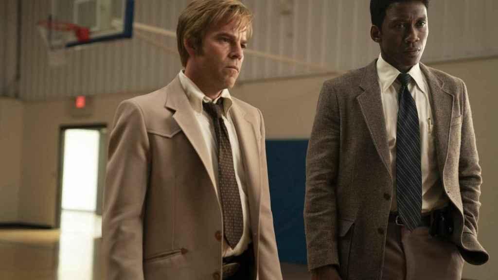 Stephen Dorff y Mahershala Ali en la tercera temporada de True Detective.