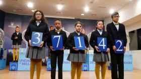 El primer premio del sorteo extraordinario de la lotería del Niño, celebrado este domingo.