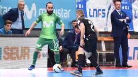 Ricardinho, en el partido ante el Levante. Foto: intermovistar.com