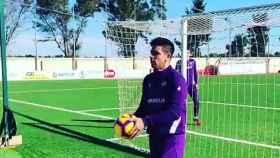 Gio Simeone reta a Griezmann a marcar un 'gol imposible'
