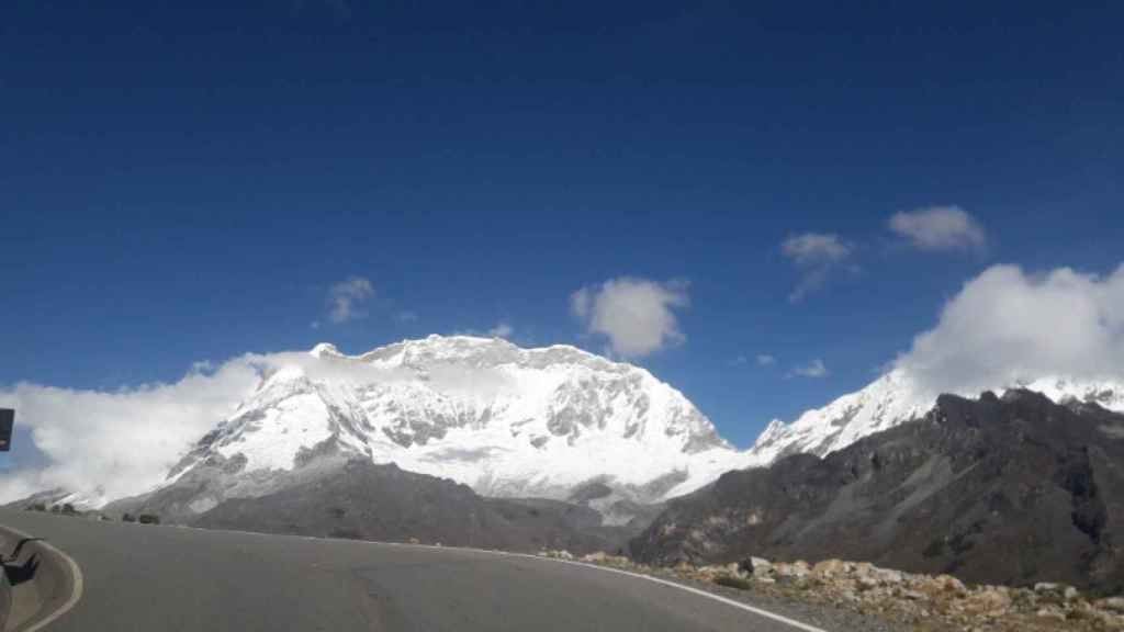 Nevado Mateo, en Perú. Foto: Twitter (@EdgarZambranoR5)