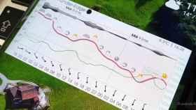 Esta aplicación del tiempo crea impresionantes gráficas meteorológicas