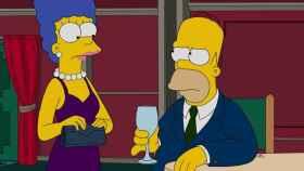Marge y Homer en un capítulo de 'Los Simpson'