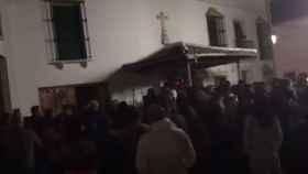 La Guardia Civil tuvo que pedir refuerzos para impedir un linchamiento por parte de los vecinos del pueblo.
