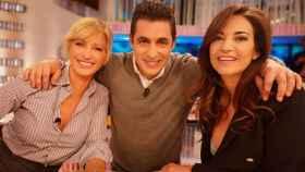 Mariló Montero junto a Antonio Naranjo y Susanna Griso.