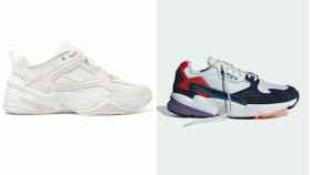 Dos de las 'sneakers' en montaje JALEOS.
