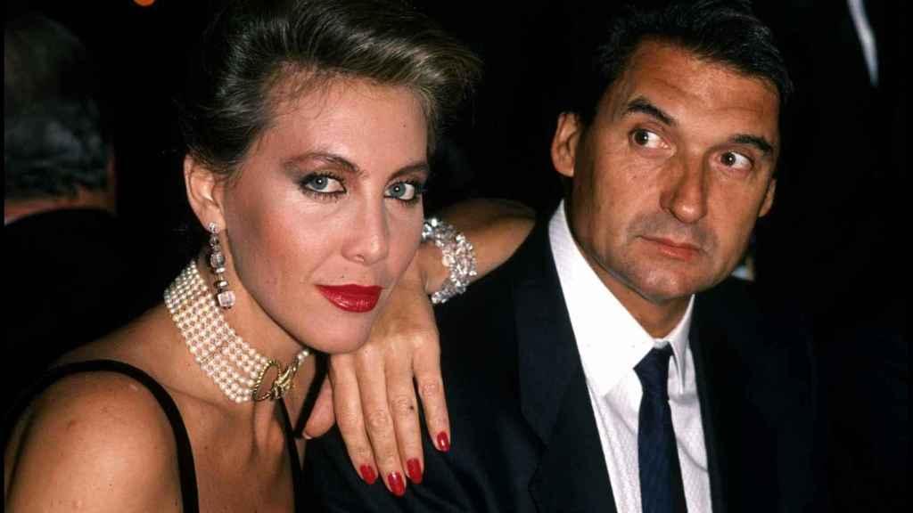 Norma Duval y Marc Ostarcevic en una imagen de 1990.