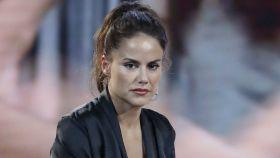 Mónica Hoyos, en el plató de 'Gran Hermano VIP'.