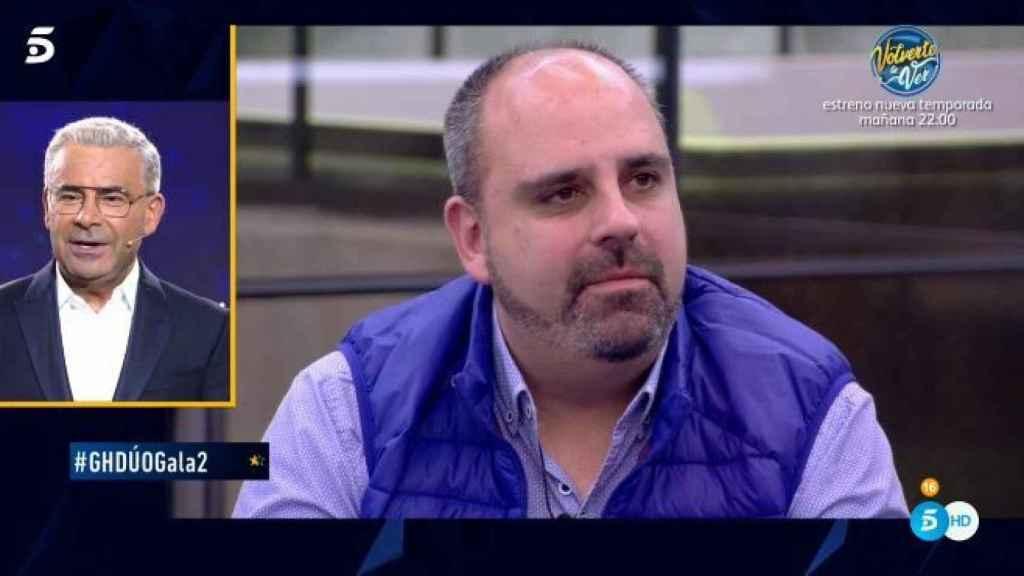 Julio Ruz durante el programa.