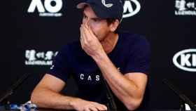 Murray, durante su rueda de prensa en el Abierto de Australia.