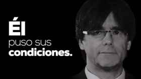 Imagen del vídeo del PP sobre los Presupuestos de Sánchez.