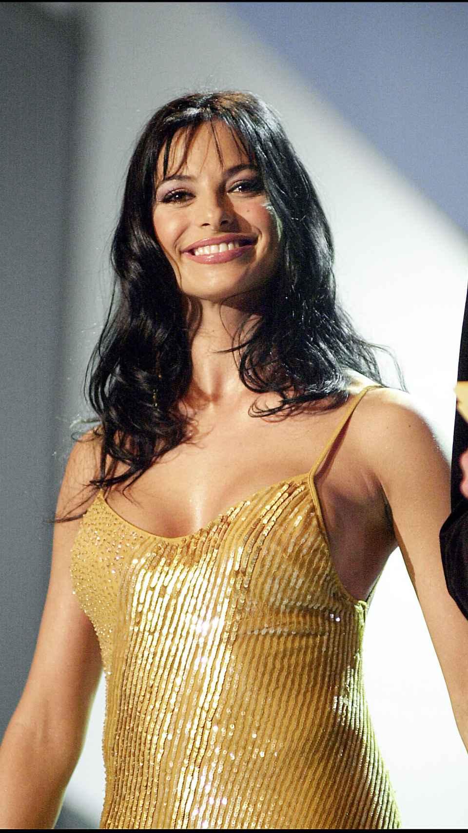 La presentadora en 2001.