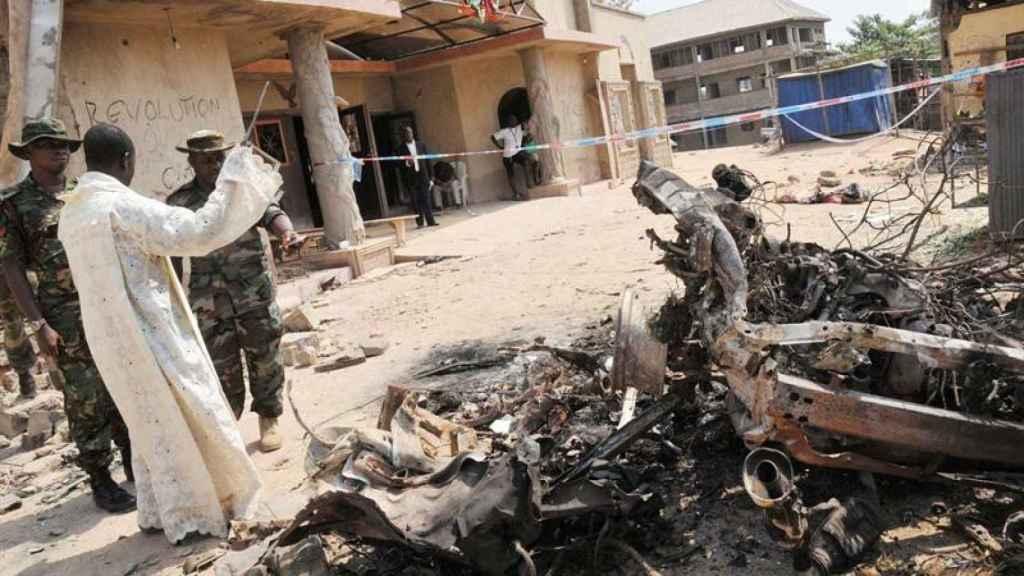 Atentado de Boko Haram en Nigeria, en una imagen de archivo.