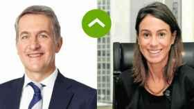 COMO LEONES: Ramón Laguarta (PepsiCo) e Isabel Pardo de Vera (Adif)