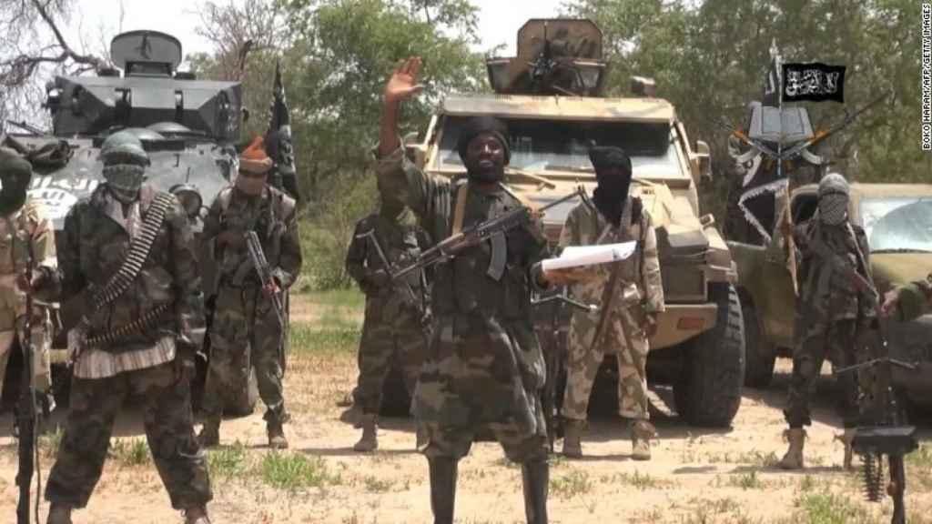 Combatientes de Boko Haram, en una imagen de archivo.