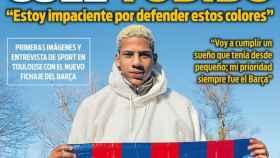 Portada del diario Sport (12/01/19)