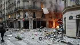 La calle donde ha ocurrido la explosión