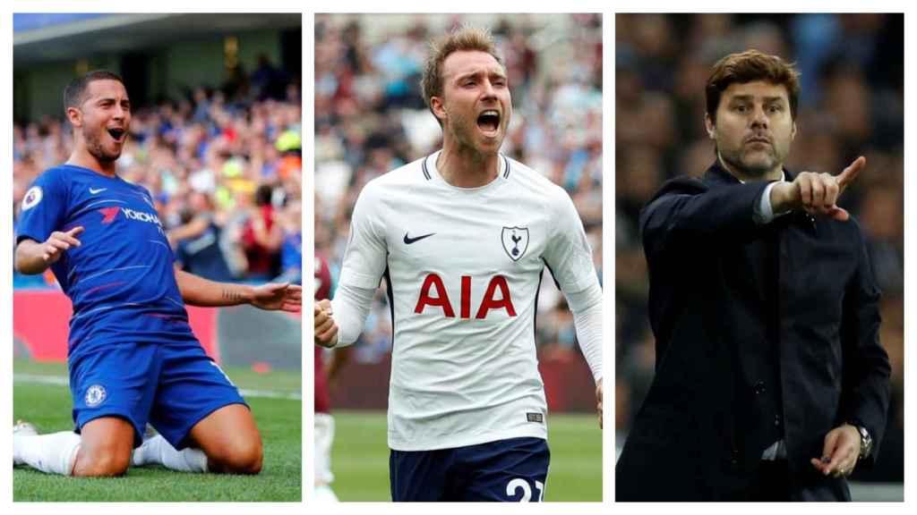Hazard, Eriksen y Pochettino, objetivos del Real Madrid