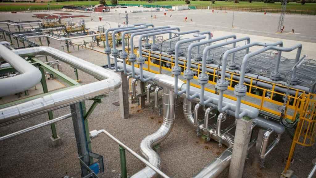 Infraestructura de gas.