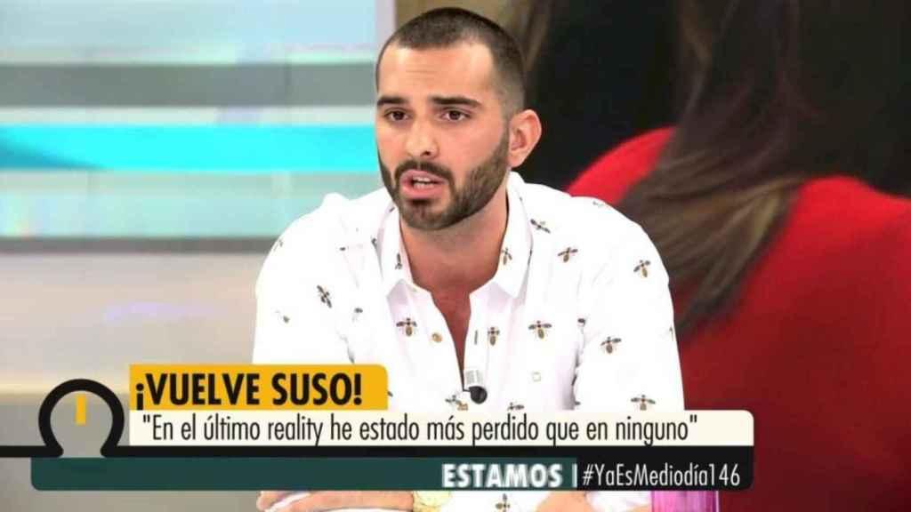 Suso Álvarez en el programa de este lunes.