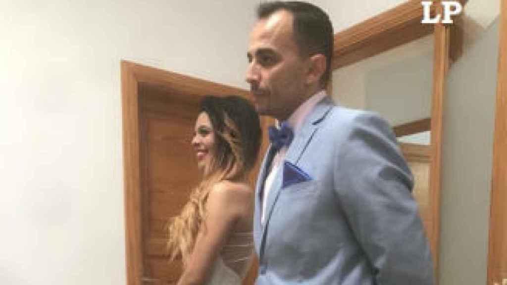Romina se casa con Raúl Díaz.