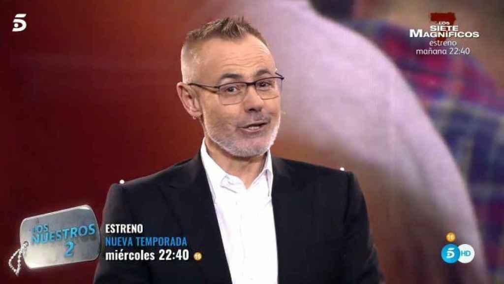 Jordi González en el debate de 'GH DÚO'.