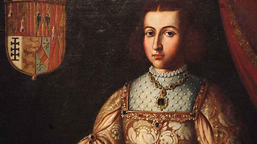 Retrato de Germana de Foix.