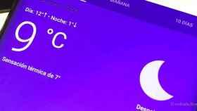 Pon la aplicación del tiempo de Google en tu móvil Android
