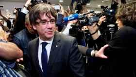 Carles Puigdemont en Bruselas.
