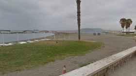 El Paseo Marítimo de El Palo, Málaga, donde falleció el hermano mayor de Julen.