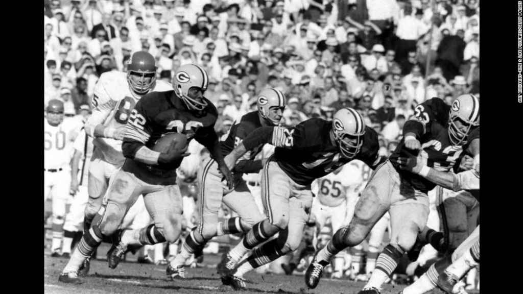 Imagen del primer encuentro de la Super Bowl