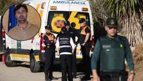 Operativo de rescate en Totalán (Málaga).