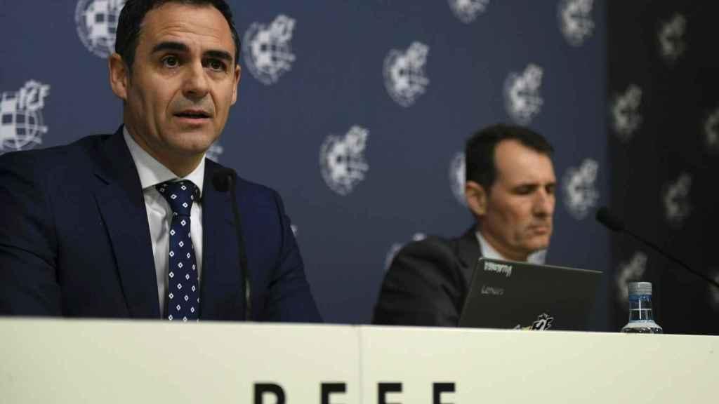 Velasco Carballo y Clos Gómez, en rueda de prensa