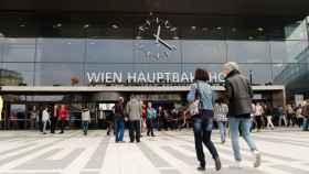 Estación Central de Viena, donde se produjeron los hechos.