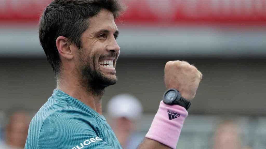 Fernando Verdasco en el Open de Australia