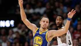 Stephen Curry en el Golden State Warriors - Denver Nuggets