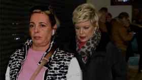 Terelu Campos y Carmen Borrego en montaje JALEOS