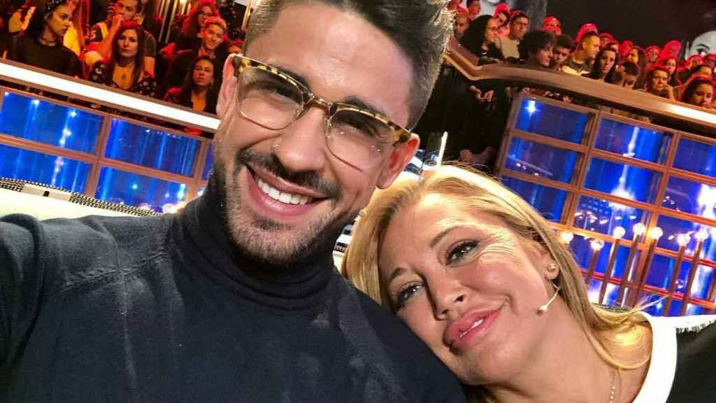 Miguel Frigenti y Belén Esteban