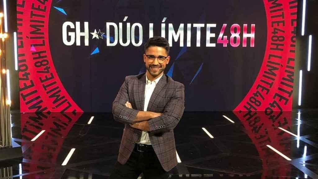 Miguel Frigenti en el plató de 'GH DÚO'