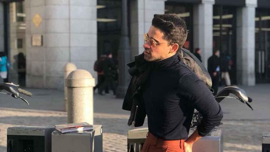 Miguel Frigenti en una imagen de Instagram