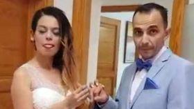 Raúl y Romina.