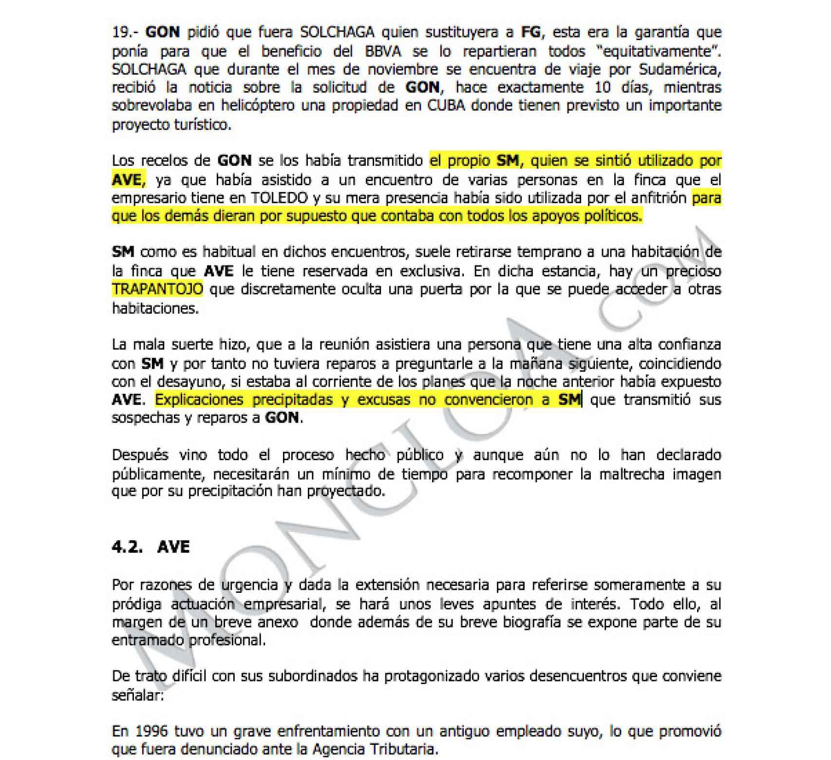 Documento publicado por Moncloa.com