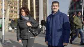 Santina D'Alessandro y Giuseppe Biondo en Madrid.