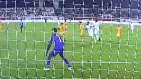 Lo nunca visto en la Copa Asia: la selección de Siria inventa el 'autopenalti'