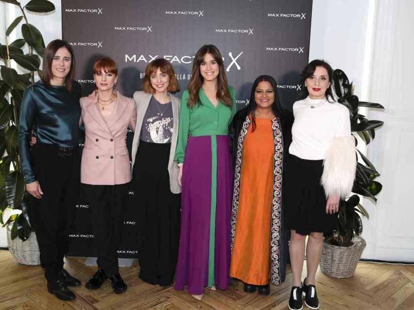 Edurne Pasaban, Najwa Nimri, Leticia Dolera, Isabel Jiménez, Asha Miró y Luz Casal.