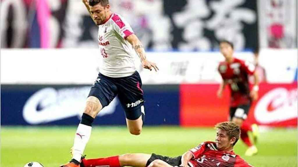 Osmar Ibáñez, durante un partido. Facebook: Osmar Barba ibanez