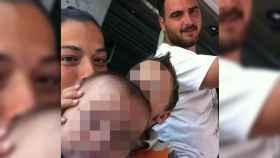 Imagen autorizada a publicar a EL ESPAÑOL por los padres de Julen, el niño de dos años que cayó a un pozo el pasado domingo en Totalán (Málaga).