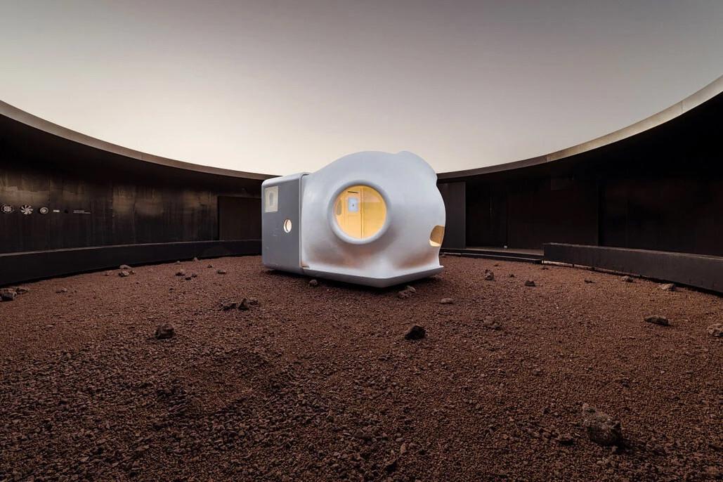Cápsula de Marte 9